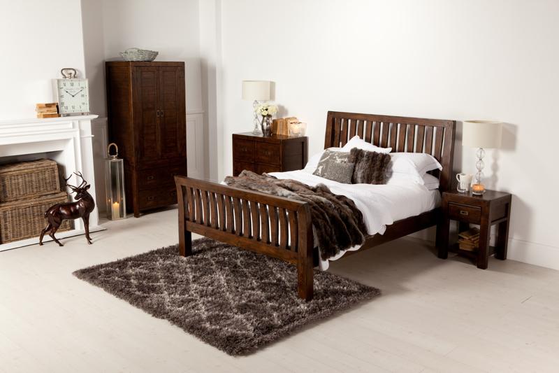 A Barker & Stonehouse bedroom set in a light room set.