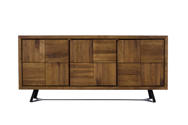 A photograph of a living room side board, furniture photography by Cal Carey Photography