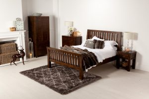 A Barker & Stonehouse bedroom set in a light room set.